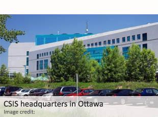 CSIS headquarters in Ottawa
