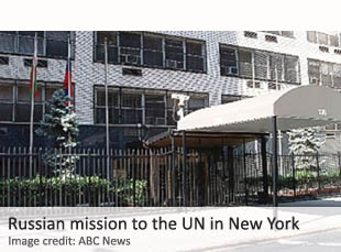 Russian mission to the UN
