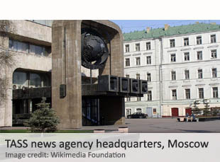 TASS news agency headquarters