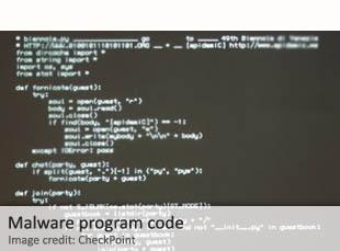 Malware program code