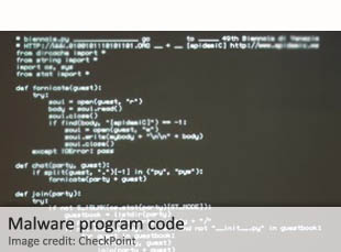 Malware program code