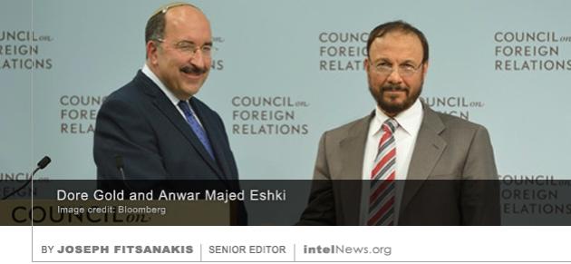 Dore Gold and Anwar Majed Eshki