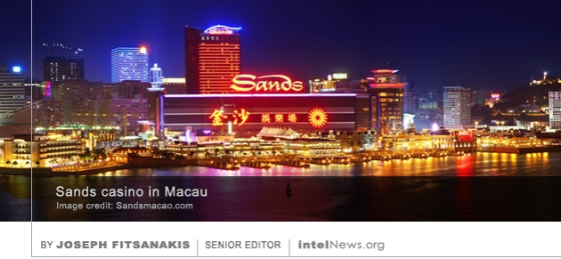 Sands casino in Macau China