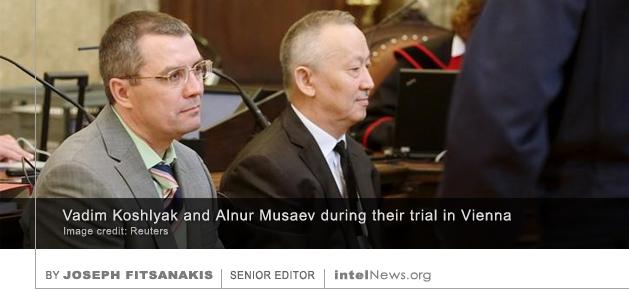 Vadim Koshlyak and Alnur Musaev