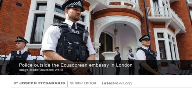 Embassy of Ecuador in London