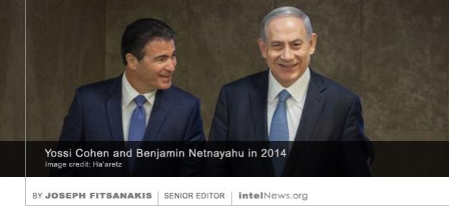 Yossi Cohen and Benjamin Netnayahu