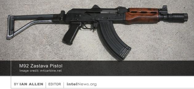 M92 Zastava Pistol