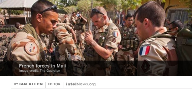 French troops Mali