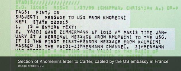 Khomeini letter