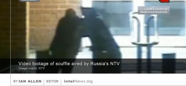 US embassy scuffle