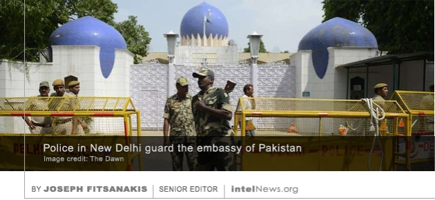 Pakistani embassy in India