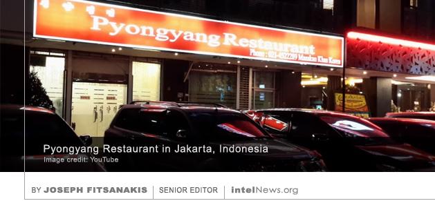 Pyongyang Restaurant in Jakarta, Indonesia