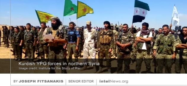 Kurdish YPG Syria