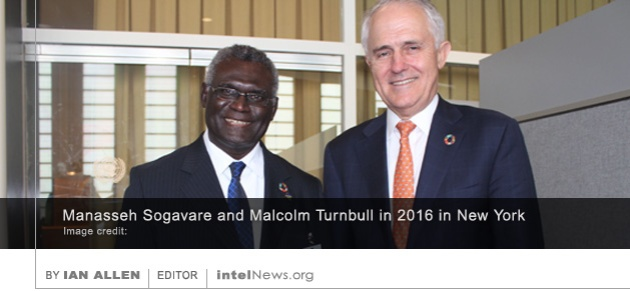 Sogavare and Turnbull