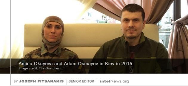 Amina Okuyeva Adam Osmayev