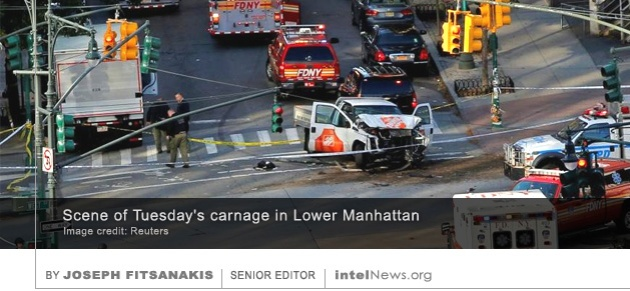 Lower Manhattan attack