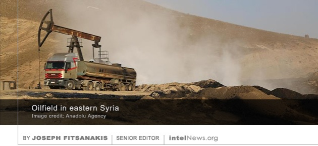 Oil field in Syria