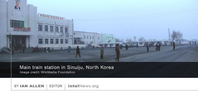 Sinuiju North Korea