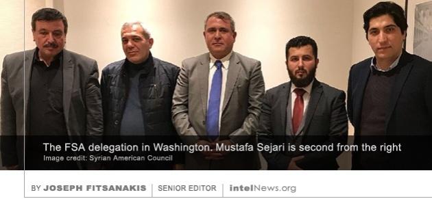 Free Syrian Army delegation