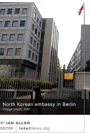 North Korean embassy in Berlin