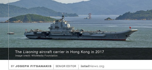 Liaoning aircraft carrier China