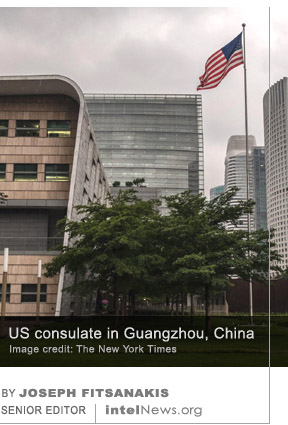 US consulate in Guangzhou