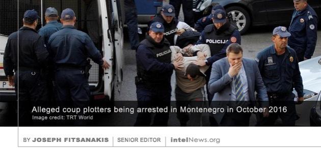 Montenegro coup