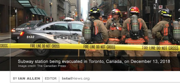 Toronto subway evacuation