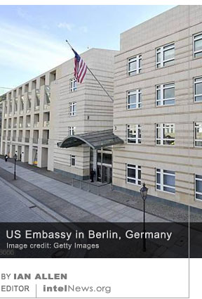 US embassy Berlin Germany