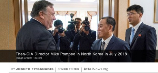 Mike Pompeo North Korea