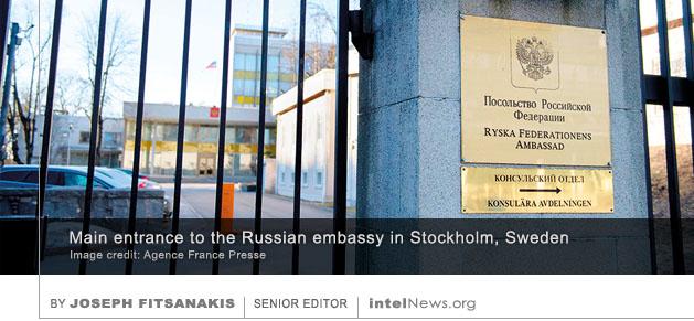 Russian Embassy Sweden