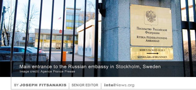 Russian Embassy Sweden