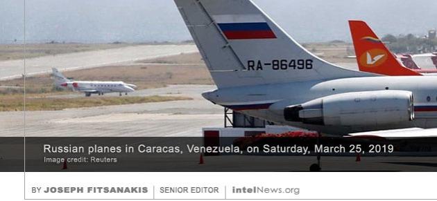 Russian planes Caracas
