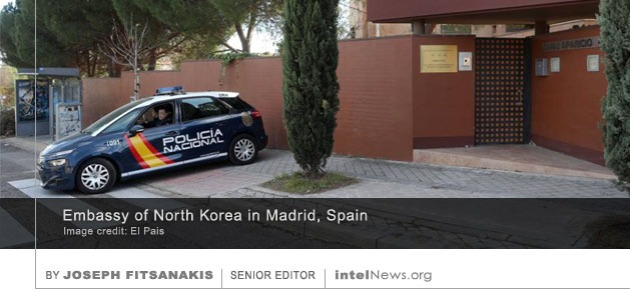 North Korea embassy Spain
