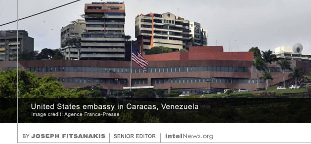 US embassy in Caracas Venezuela