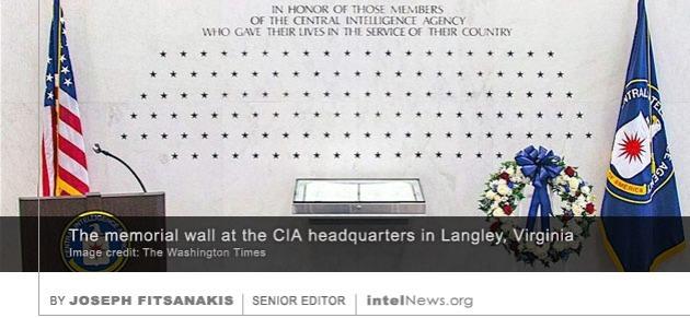 CIA memorial wall