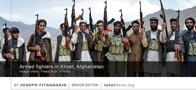 Armed guerillas Khost Afghanistan