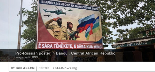 Central African Republic Russia