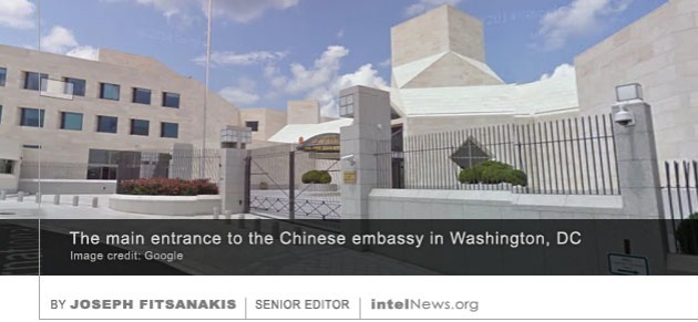 Chinese embassy in the United States