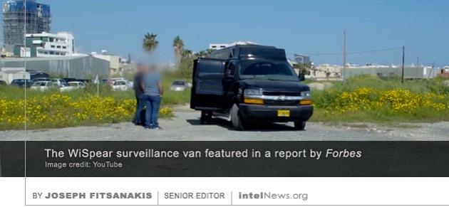 WiSpear surveillance van