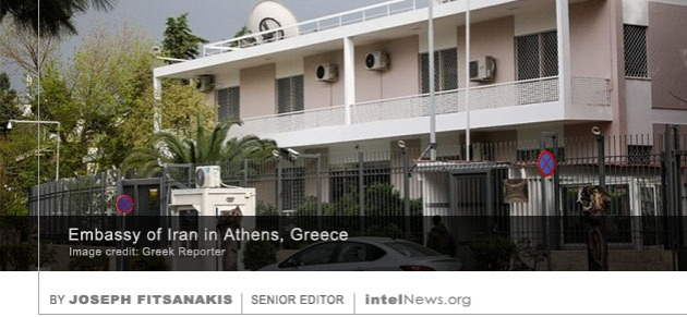 Iran embassy Greece