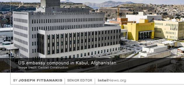 US embassy in Afghanistan