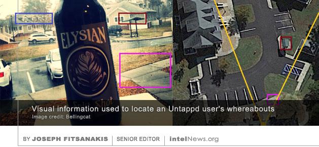 Untappd app