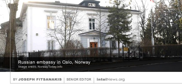 Russian embassy Oslo