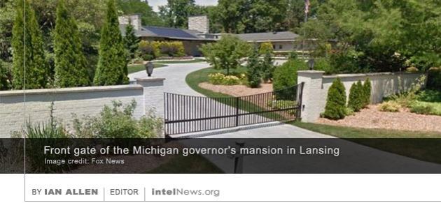 Michigan governor mansion