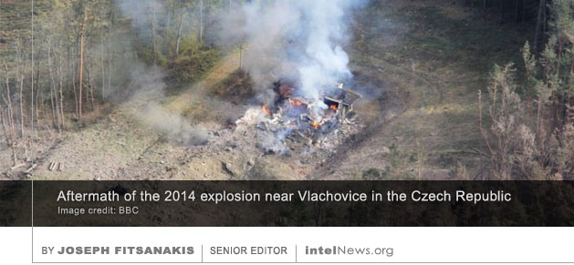 Vrbětice Czech Republic ammunition depot explosions