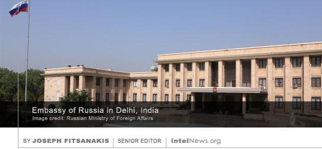 Russian embassy India